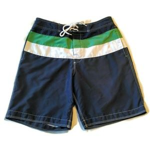 Gap mens swim suit shorts board M trunk mesh lined